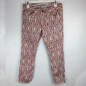 "Free People Geometric Pants Waist 29"" x Inseam 26"